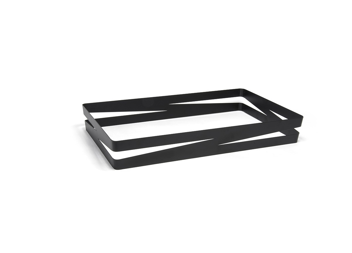Zig Zag Housing - Shallow - Matte Black