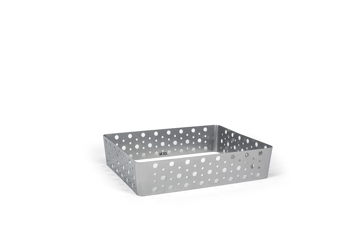 Half Size Dots Housing - Shallow - Silver