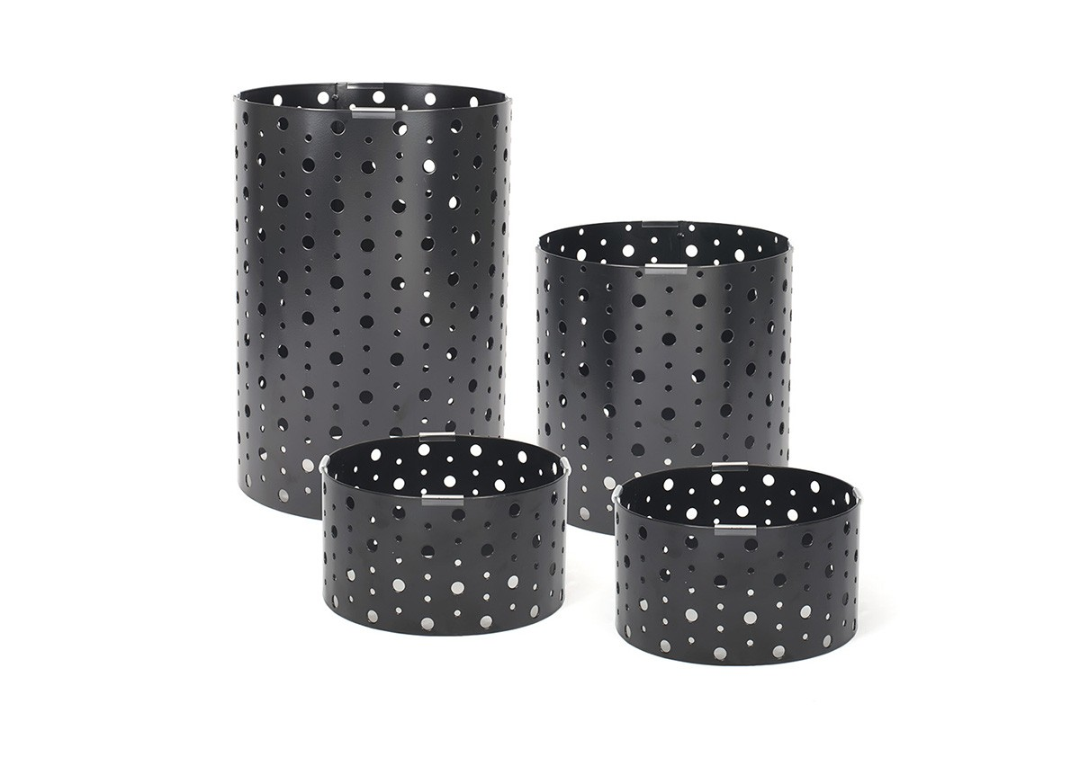 Dots Risers - Set of 4 - Matte Black