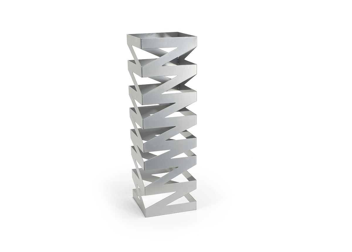 Zig Zag Tall Risers - Set of 2 - Silver