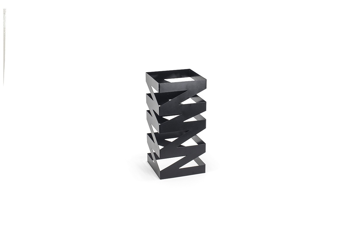 "13"" Zig Zag Risers - Set of 2 - Matte Black"