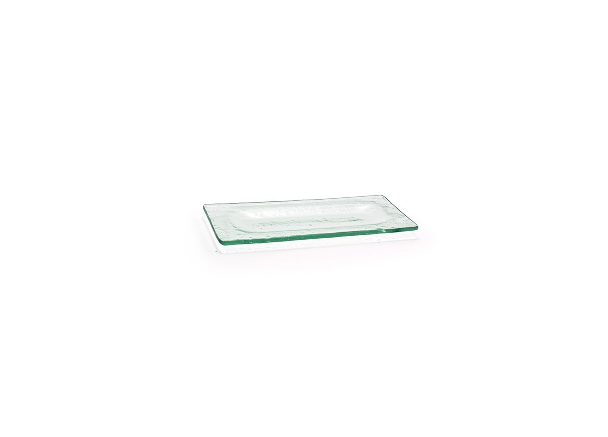 "8"" x 4"" Rectangle Arctic Plate - Clear"