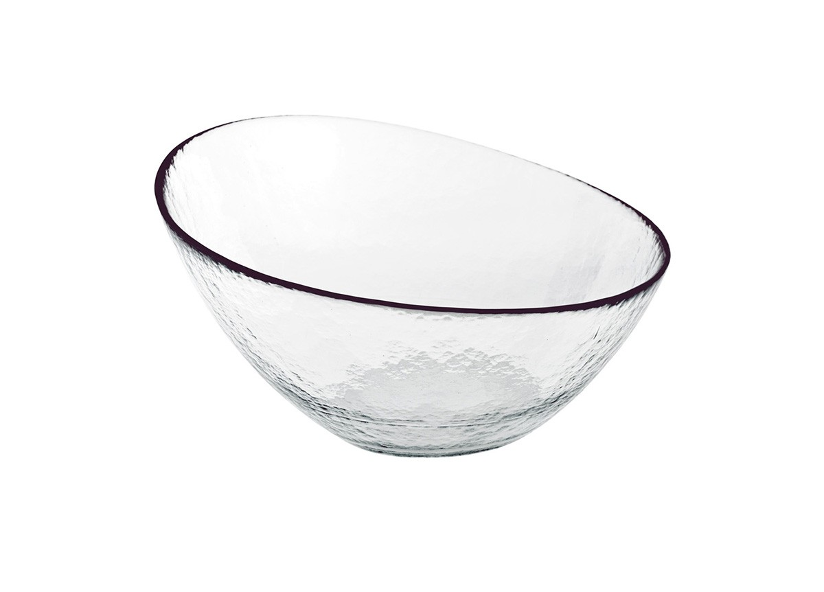 "11.75"" Kaleidoscope Slanted Bowl"