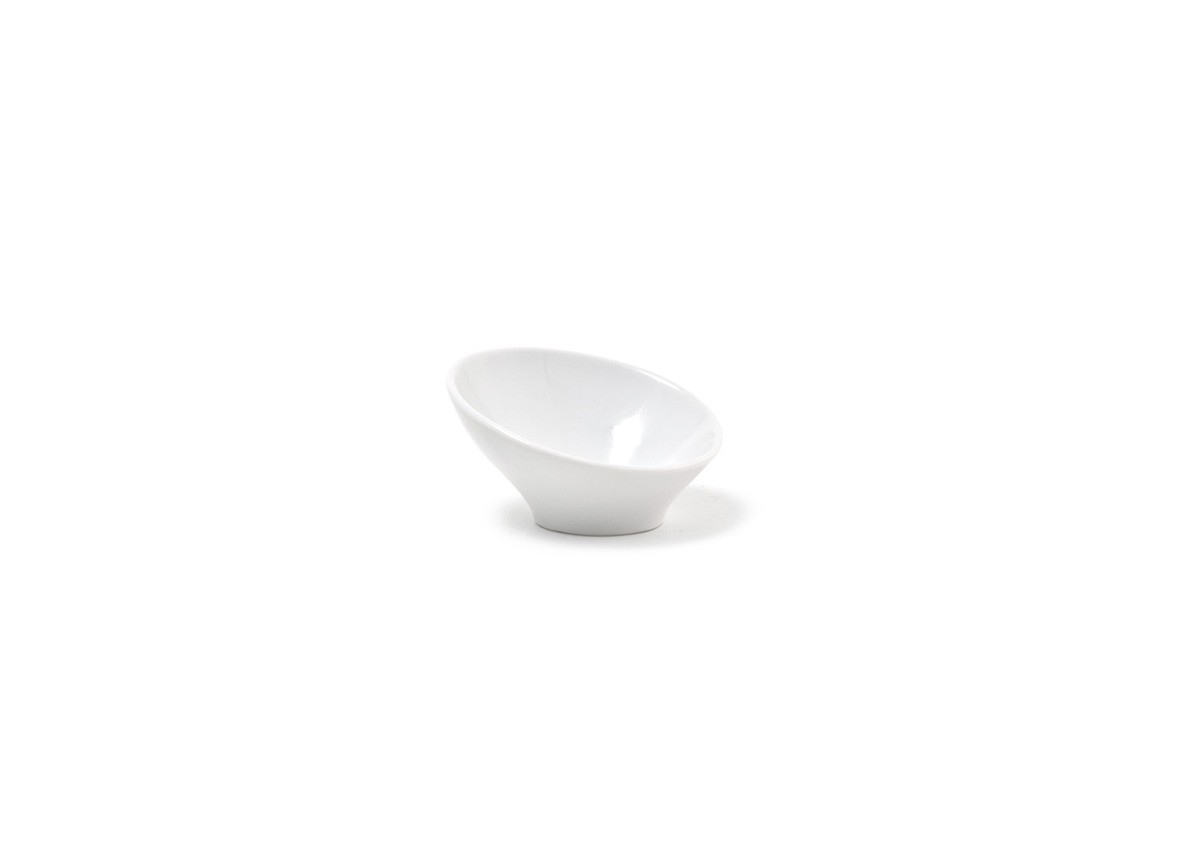 "3.5"" Slanted Bowl"