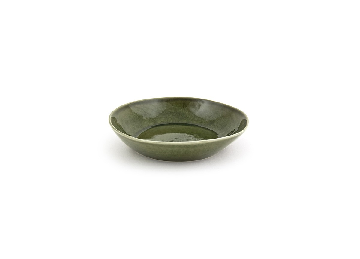 "8.5"" Kiln Bowl - Leek"