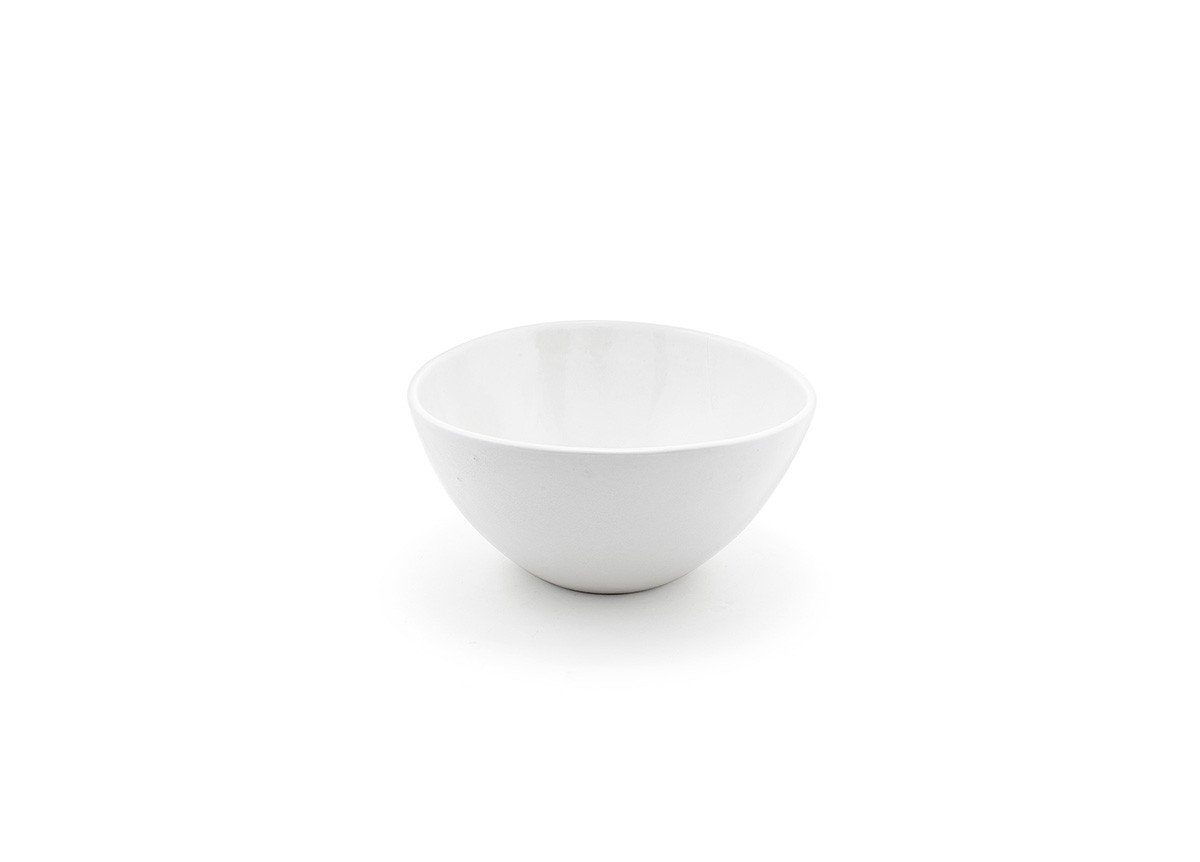 7.5 Tall Kiln Bowl -  White