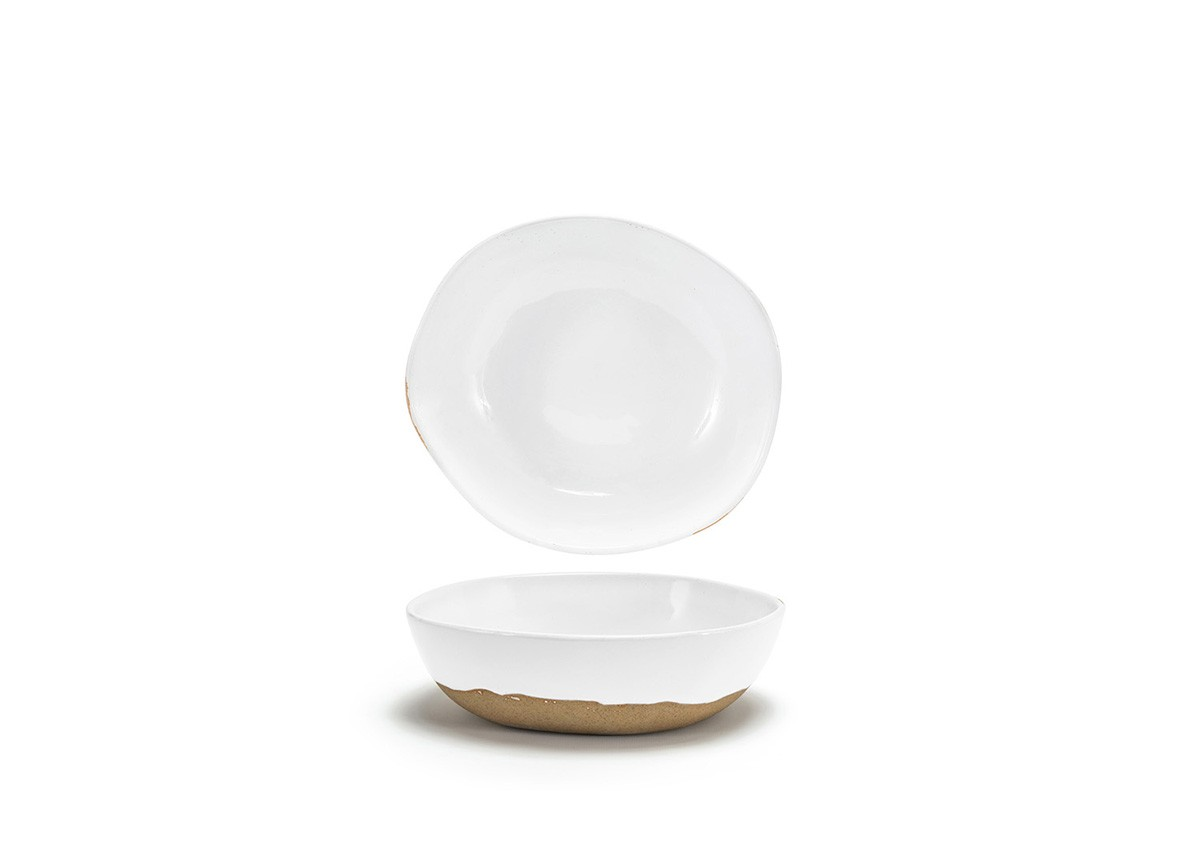 "8.75"" Artefact Bowl - White"