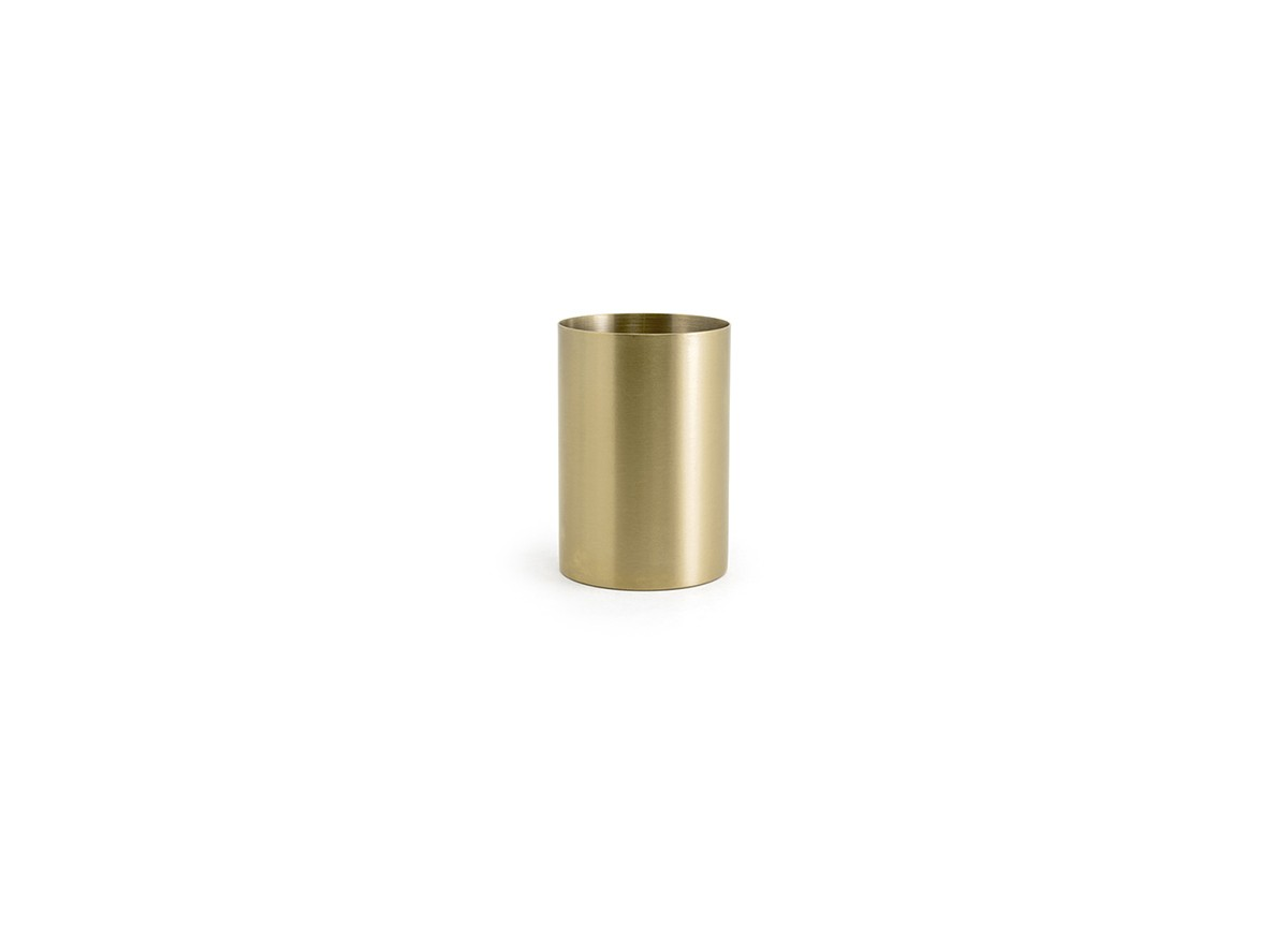 10oz SS Holder - Matte Brass