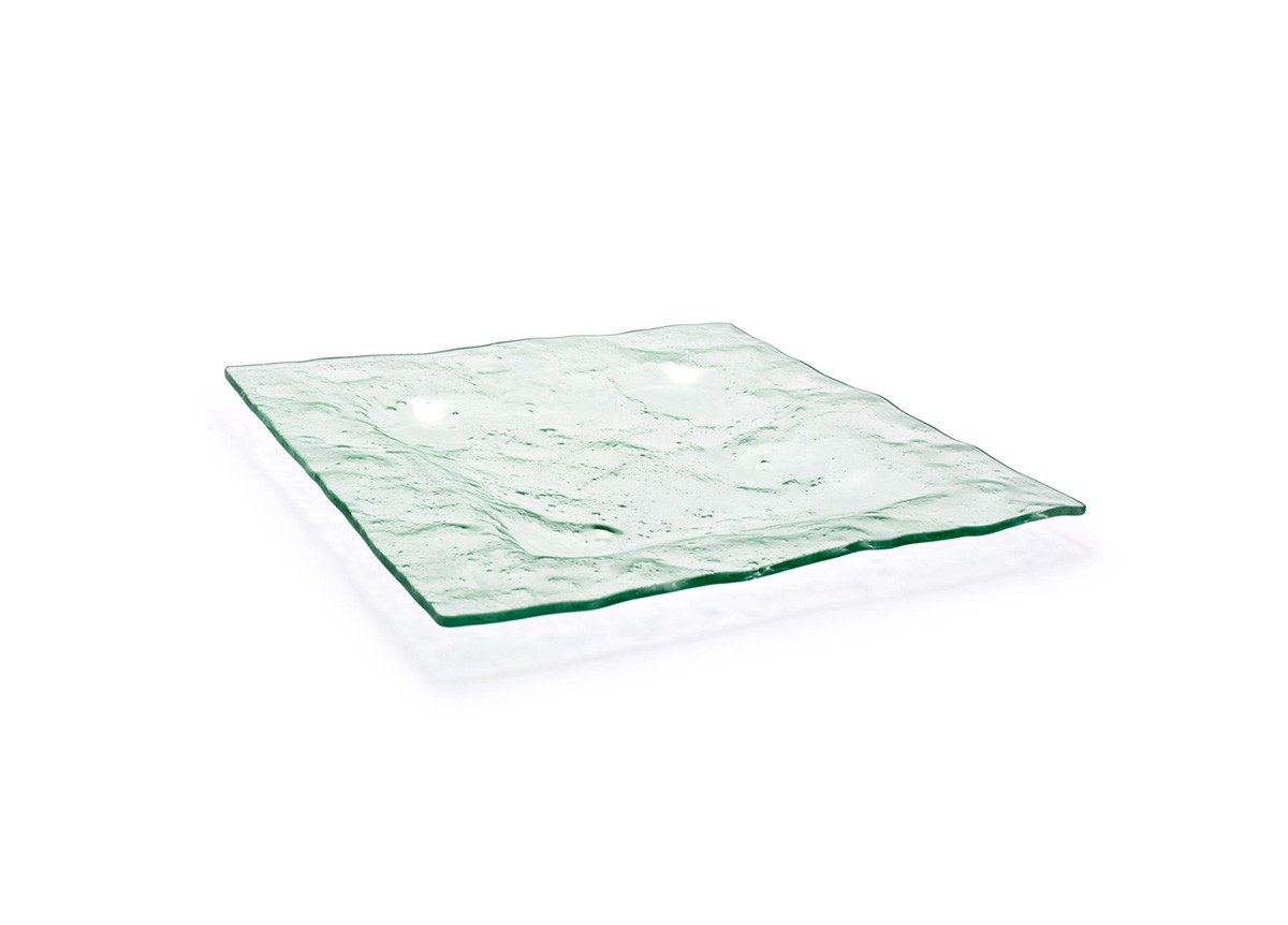 """13"""" Square Arctic Plate - Clear"""