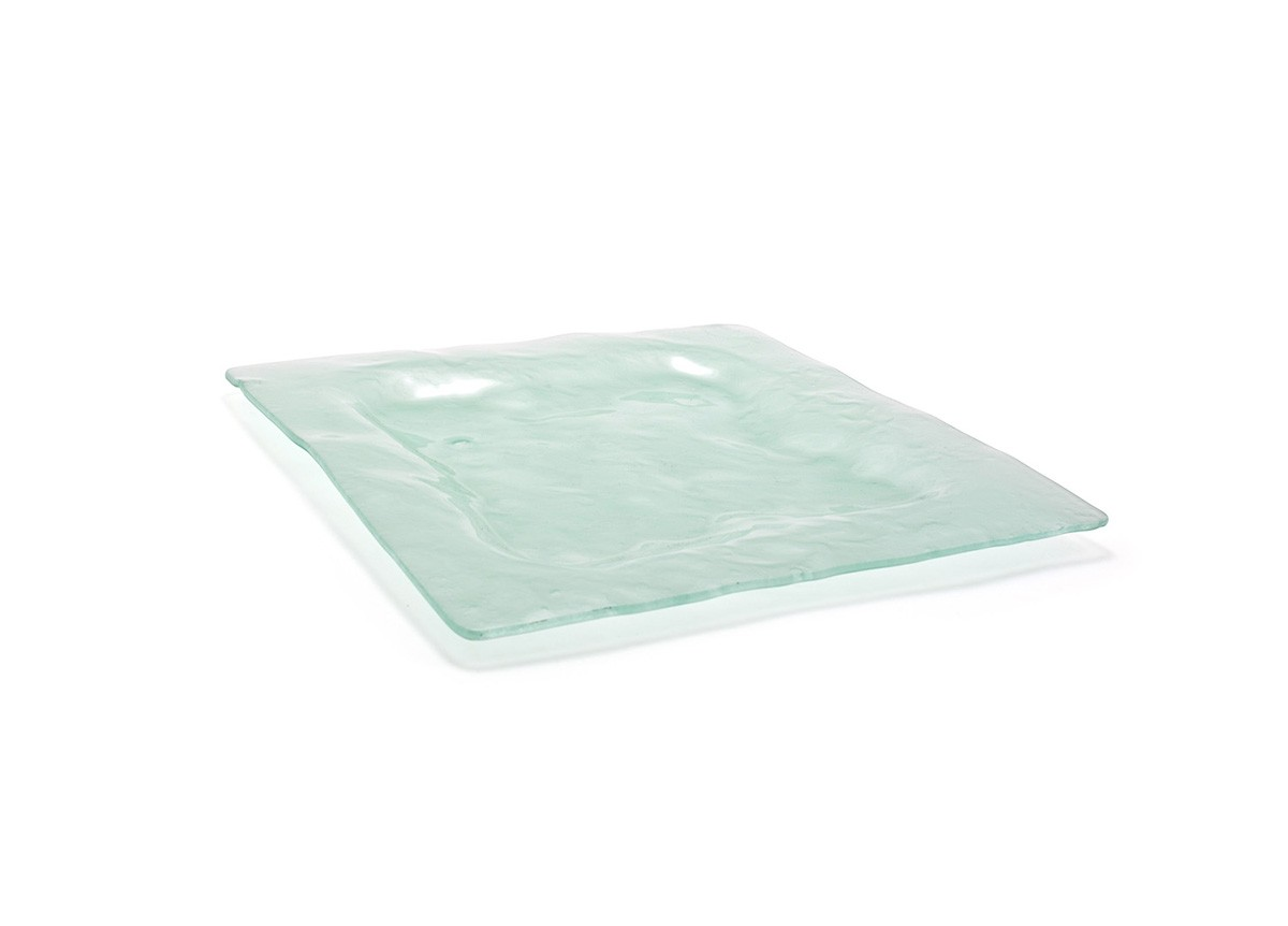 "13"" Square Arctic Plate - Frosted"