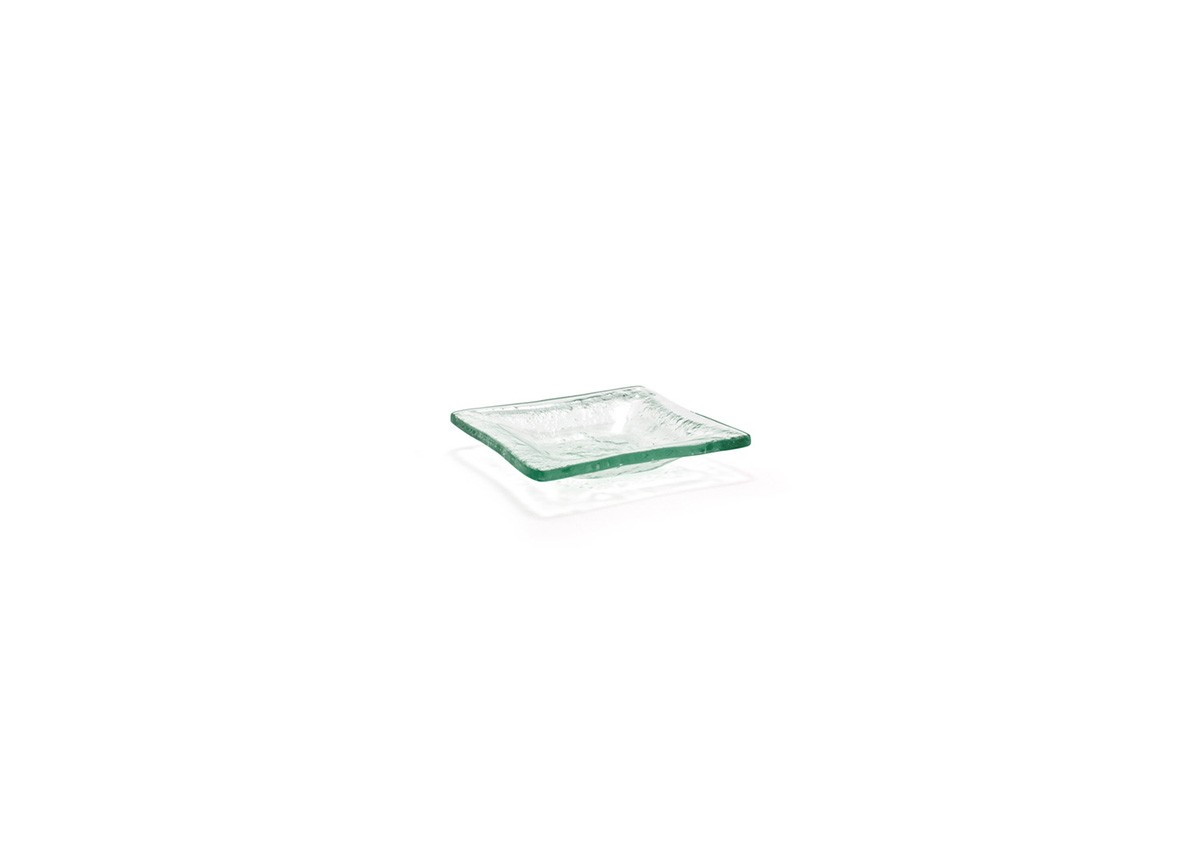 "3.5"" Square Arctic Dish - Clear"