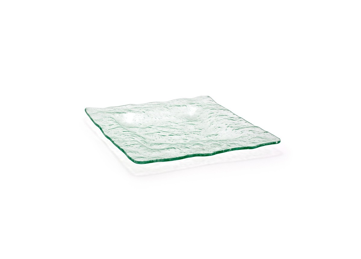 "10"" Square Arctic Plate - Clear"