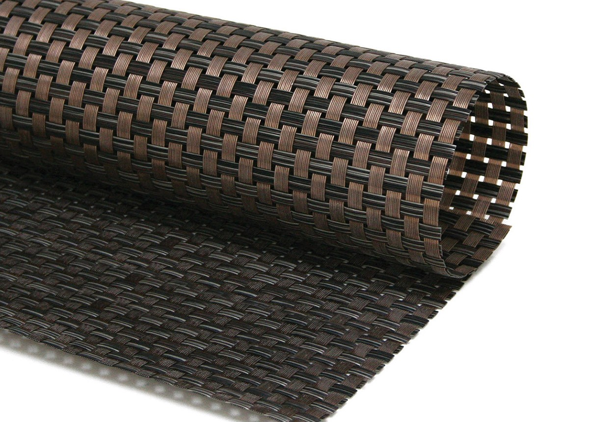 "11.75"" x 17.5"" Large Basketweave Mat - Copper"