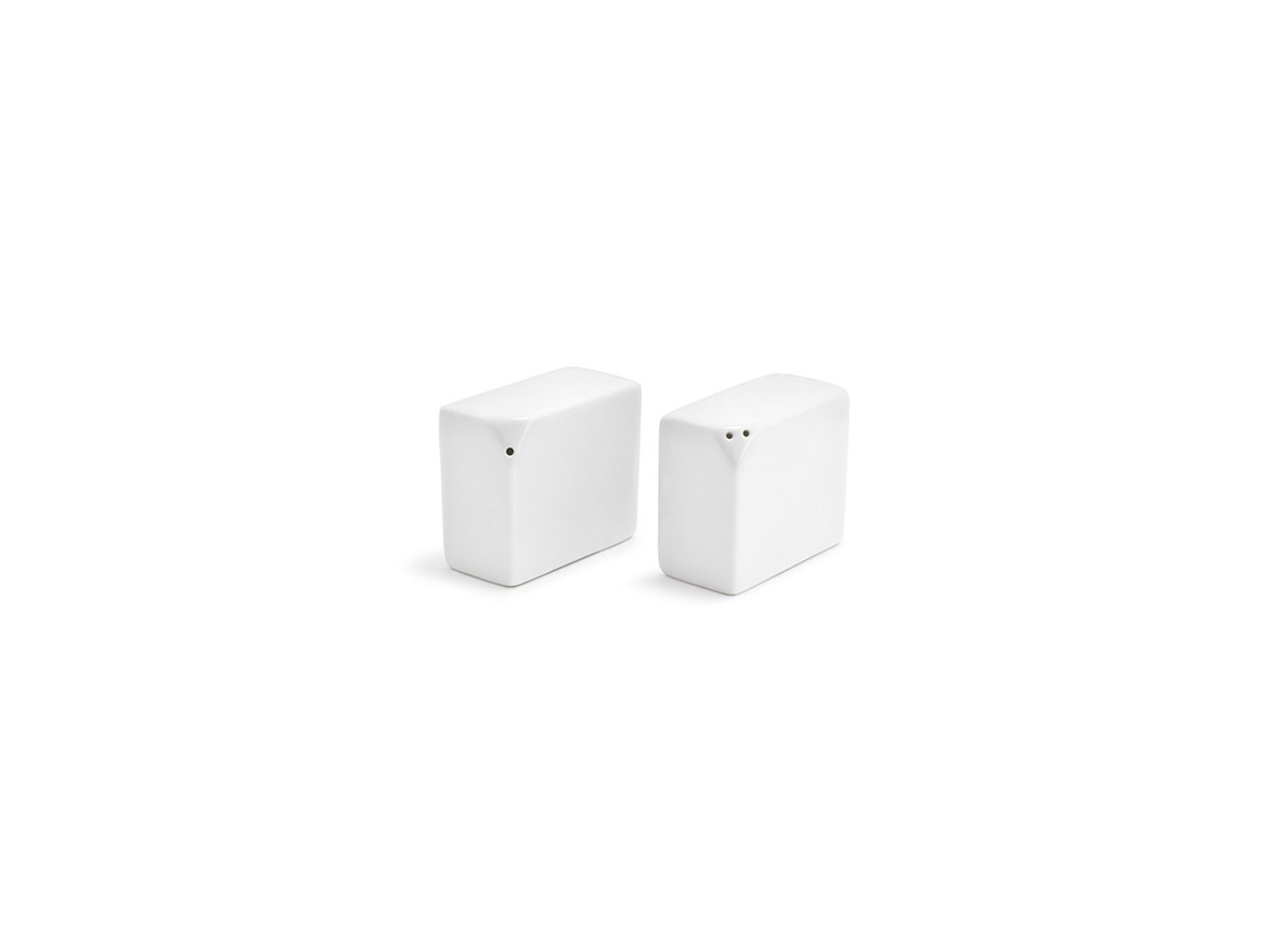 Rectangle Canvas Salt & Pepper Set