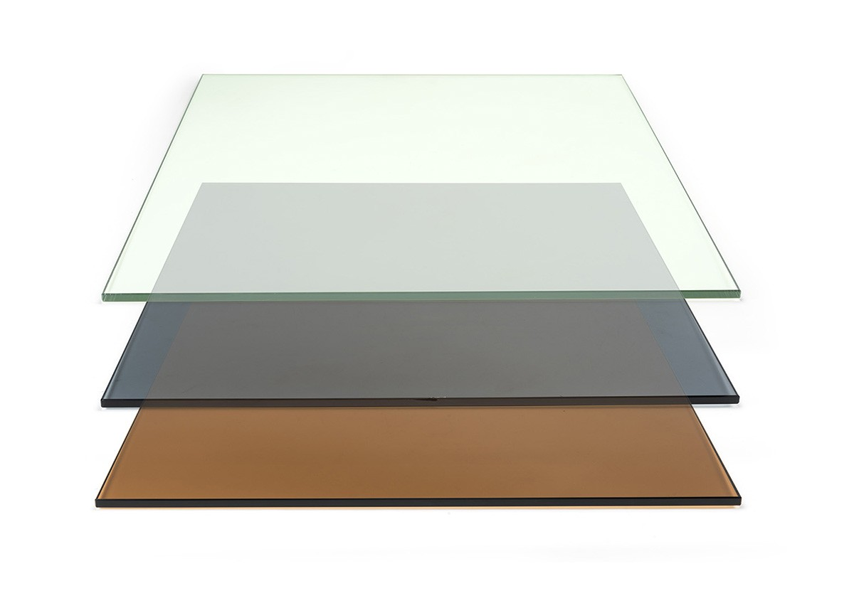 "19"" Square Tempered Glass Board"