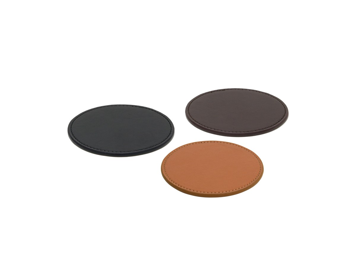 Faux Leather Coaster