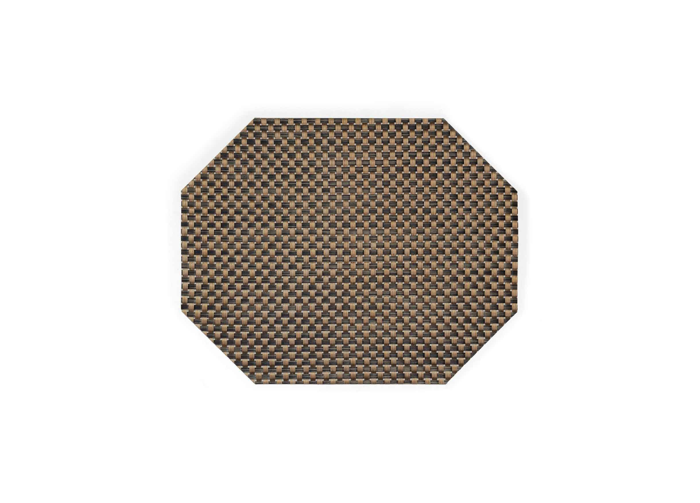 "11"" x 14"" Large Basketweave Mat - Copper"