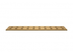 "8"" x 36"" Bamboo Cone Holder - Natural"