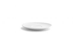 Spiral Bouillon/Cream Soup Saucer - White