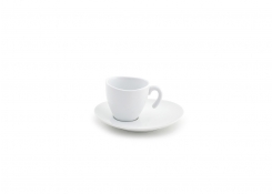 2oz Ellipse Stackable Cup & Saucer