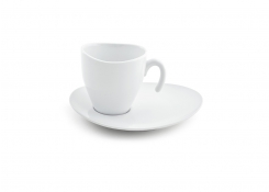 8oz Ellipse Stackable Cup & Saucer