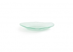 "10.25"" Oval Arctic Plate - Frosted"