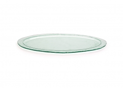 "24"" Oval Arctic Platter - Clear"