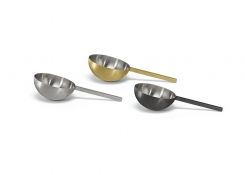 """6"""" Brushed Stainless Ice Scoop"""