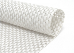 Large Basketweave - White