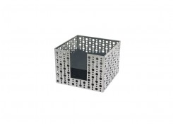 SS Napkin Holder - Dots