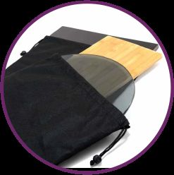 Drawstring Storage Bags and Safety Straps
