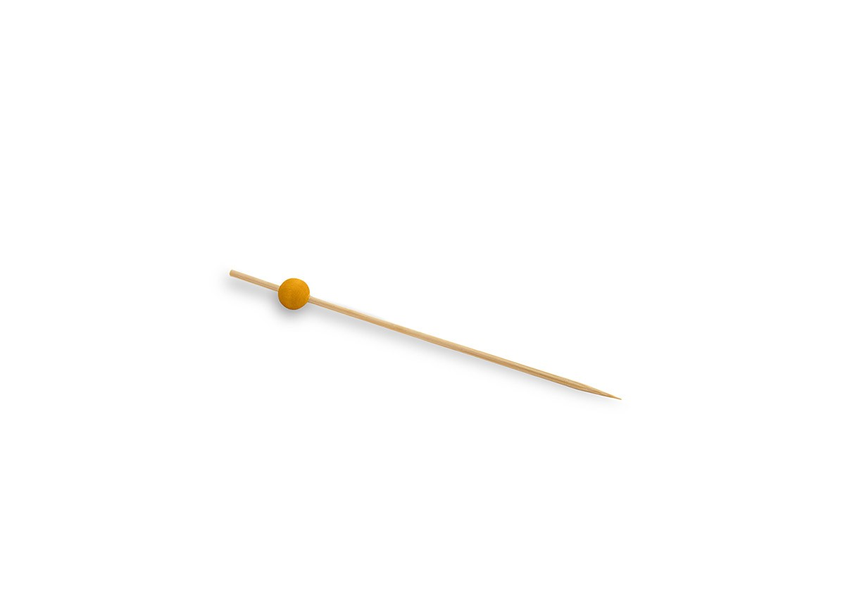 "4.5"" Ball Pick - Yellow"