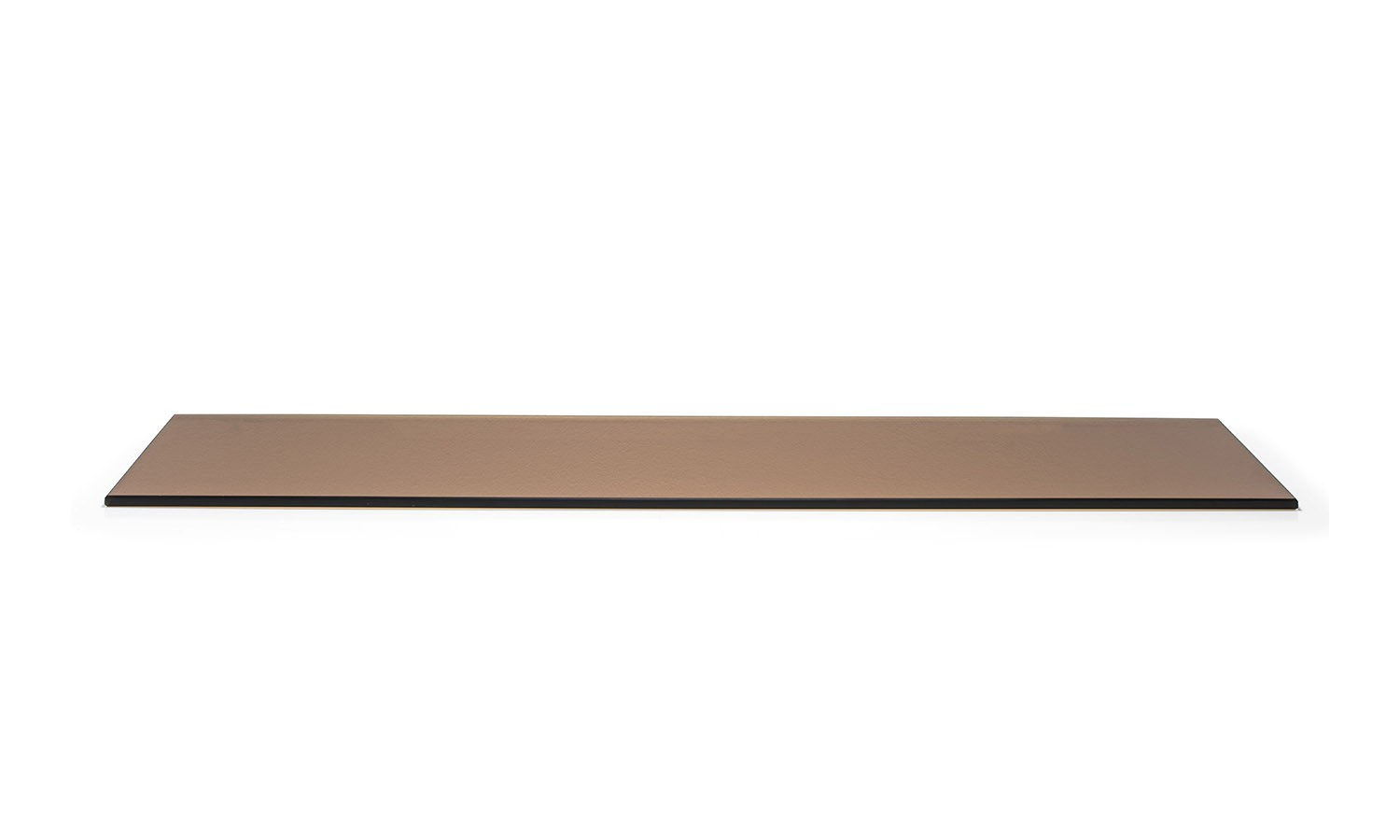 "8"" x 36"" Buffet Boards - Amber Tempered Glass"