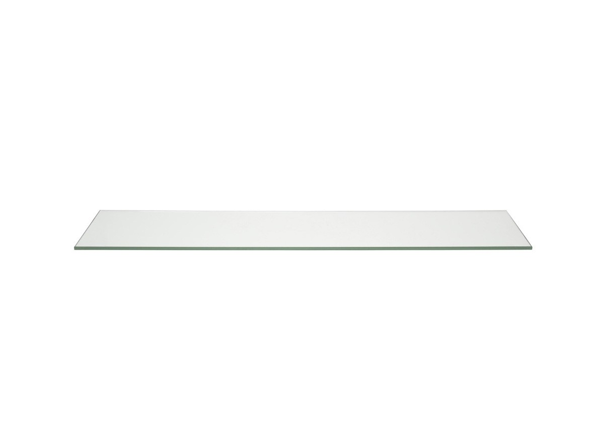 "36"" x 8"" Tempered Glass Board - Clear"