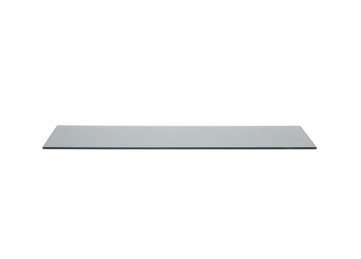 "36"" x 8"" Tempered Glass Board - Smoke"