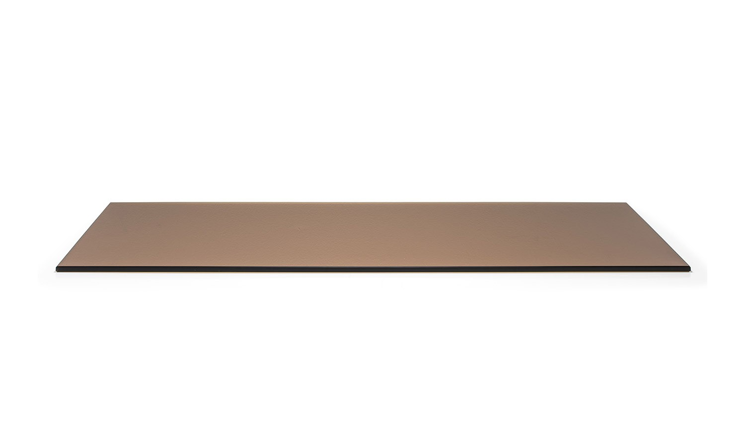 """14"""" x 36"""" Buffet Boards - Amber Tempered Glass"""