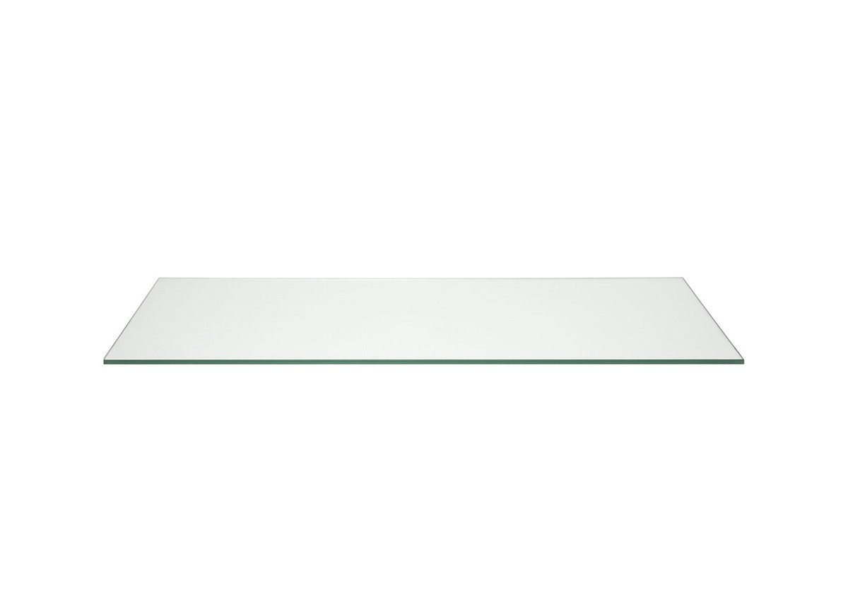 "36"" x 14"" Tempered Glass Board - Clear"