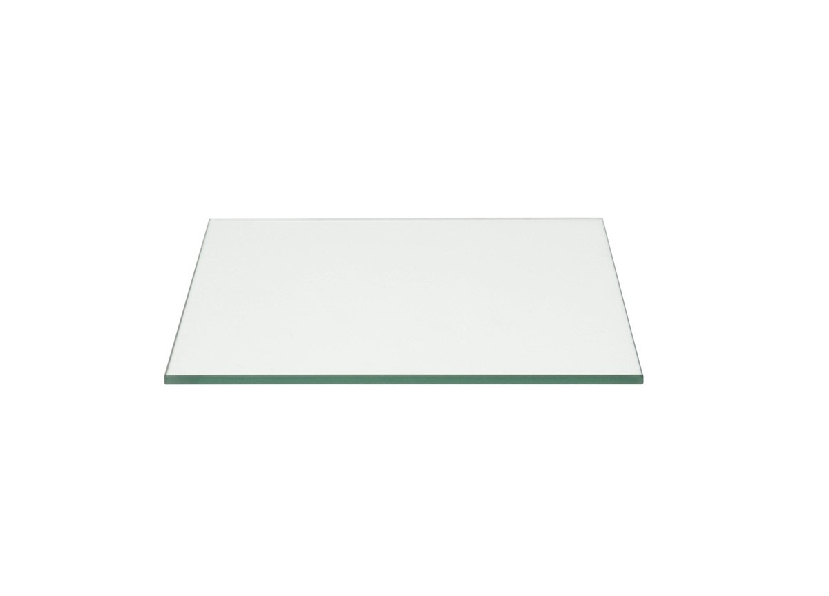 "14"" Square Tempered Glass Board - Clear"