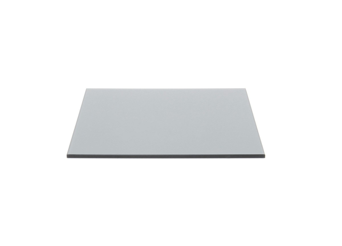 "14"" Square Tempered Glass Board - Smoke"