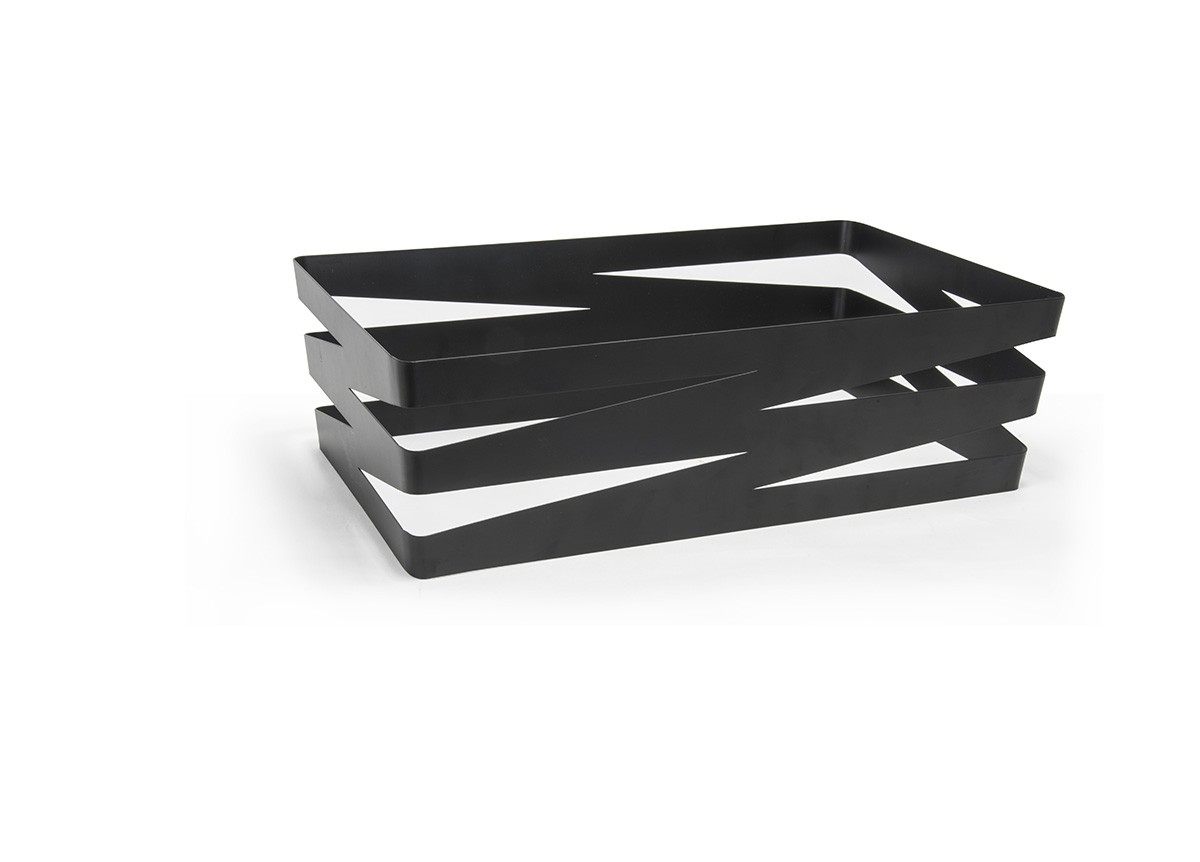 Zig Zag Housing - Deep - Matte Black