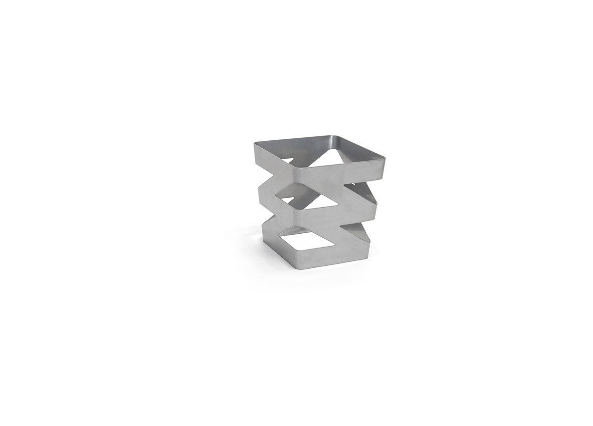 1/6 Size Zig Zag Housing - Deep - Silver