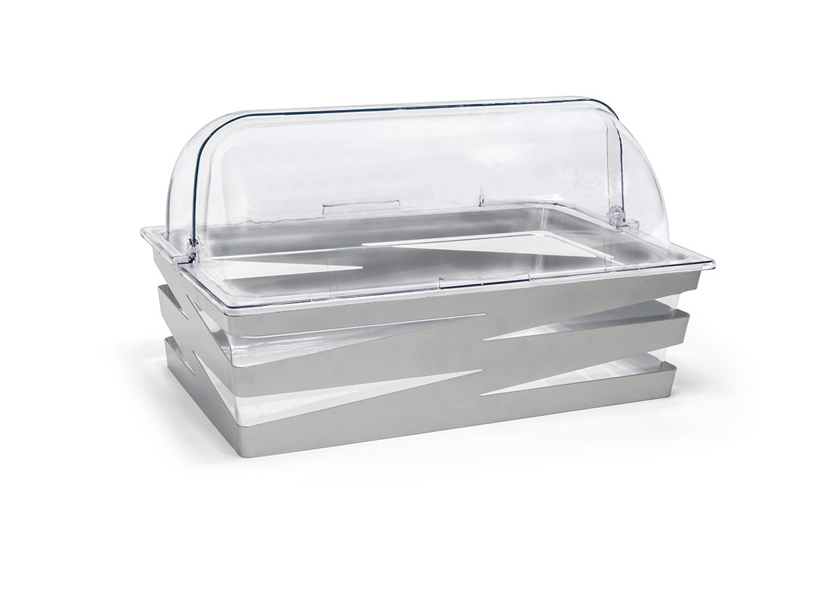 Full Size Zig Zag Housing/Pan Set - Deep - Silver and Cover