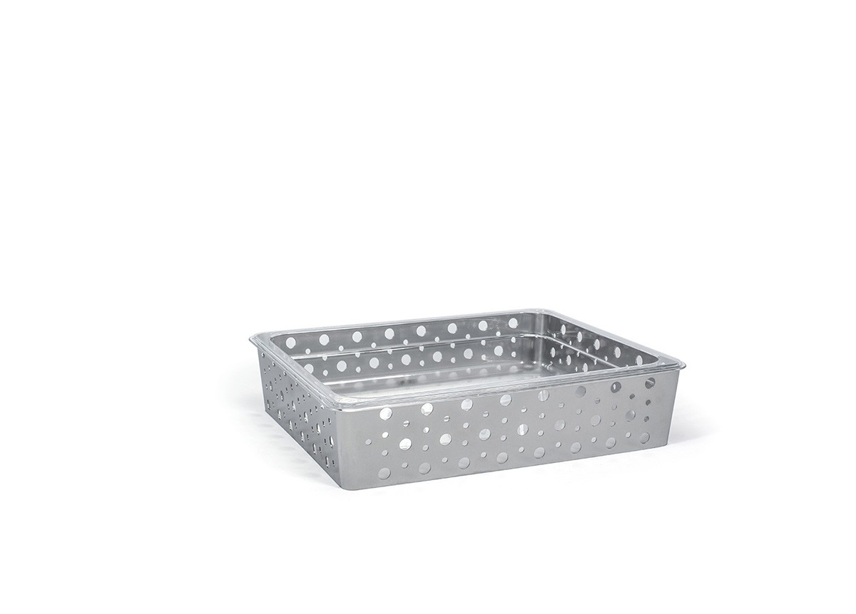 1/2 Size Dots Housing/Pan Set - Shallow - Silver