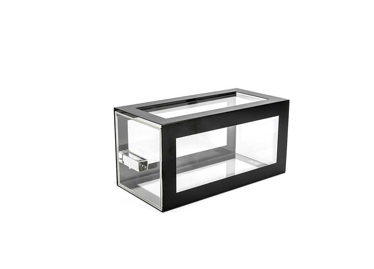 Metal Housing/Drawer Set - Matte Black