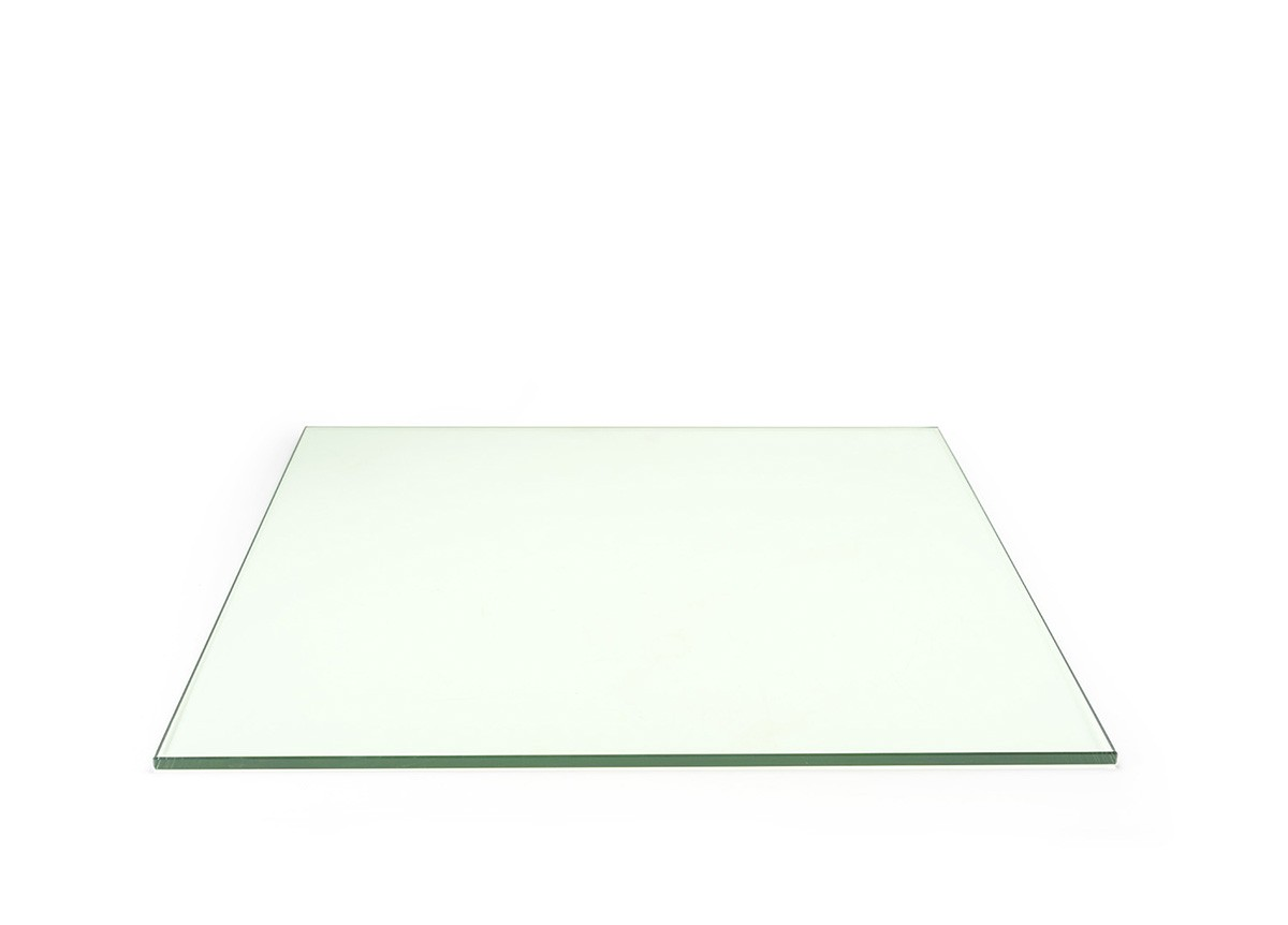 "19"" Square Tempered Glass Board - Clear"