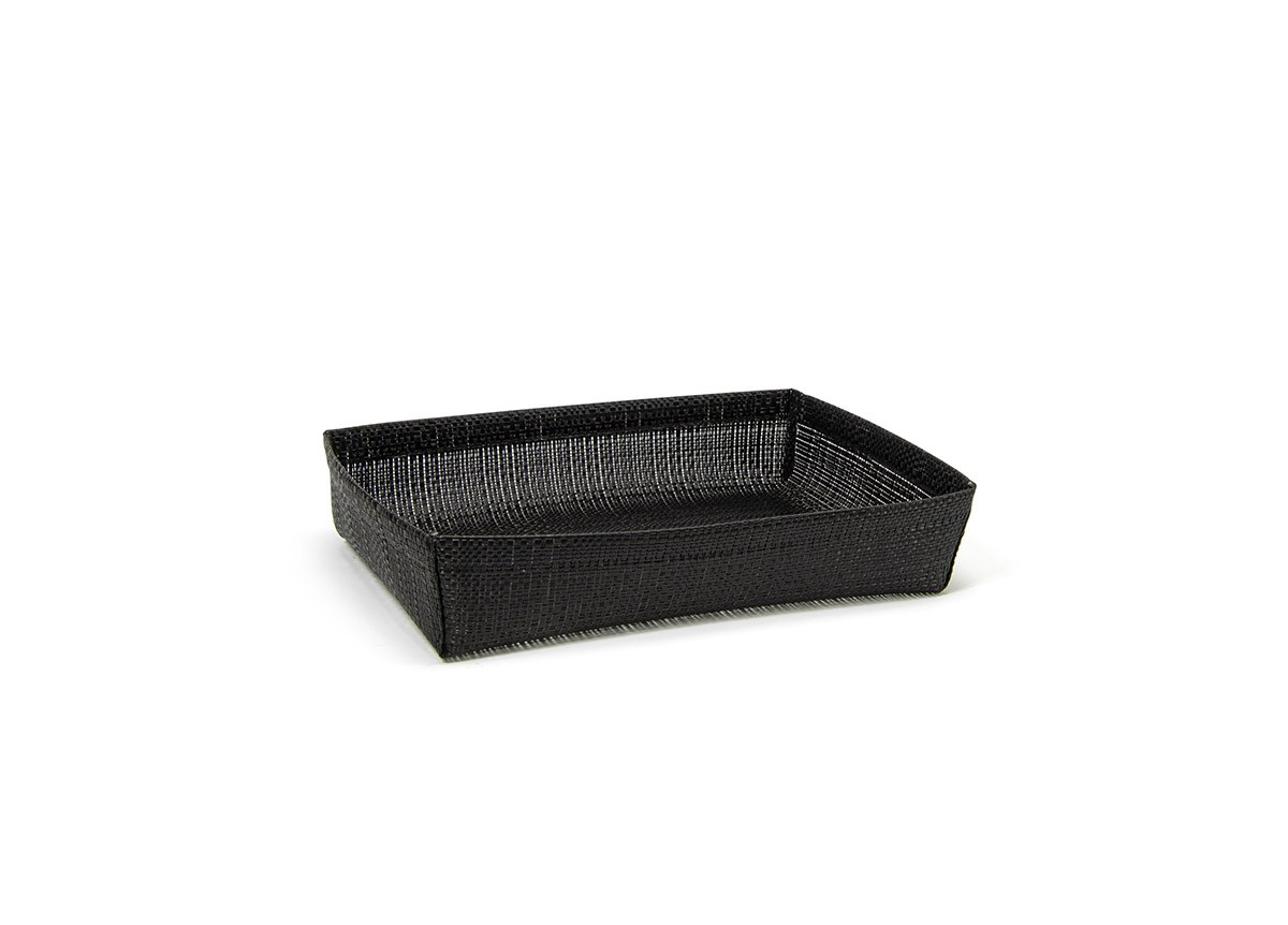 1/2 Size Metroweave®  Housing - Shallow - Random Weave Black