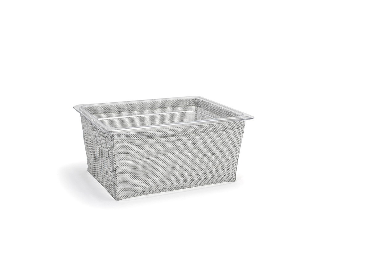 1/2 Size Metroweave®  Housing/Pan Set - Deep - Mesh Grey