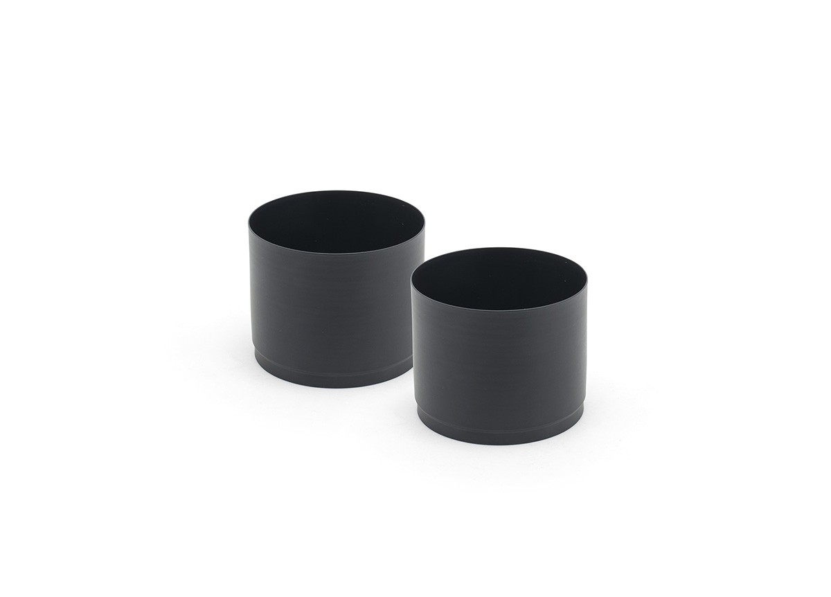 Fuel Cell Risers - Set of 2 - Matte Black