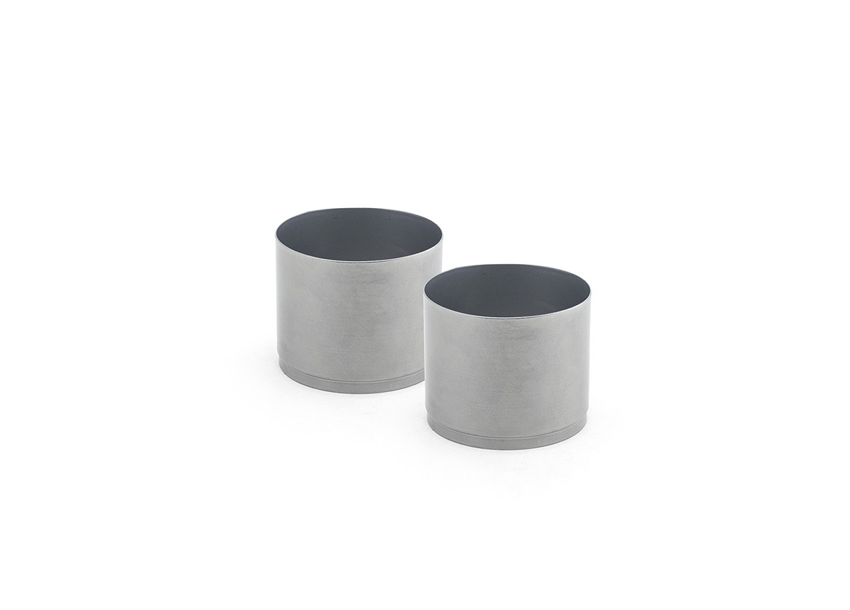 Fuel Cell Risers - Set of 2 - Silver