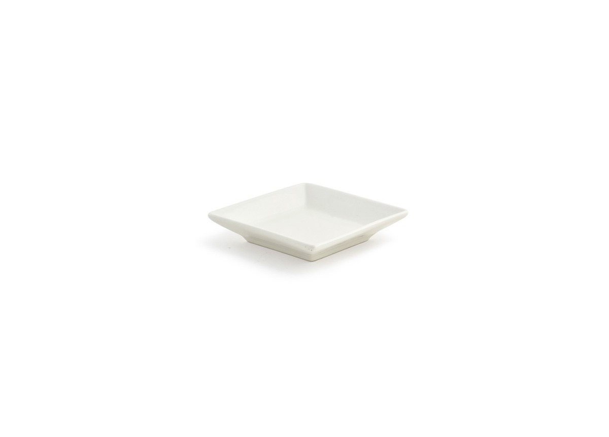 "3.5"" Square Catalyst Kyoto Dish - 1oz"